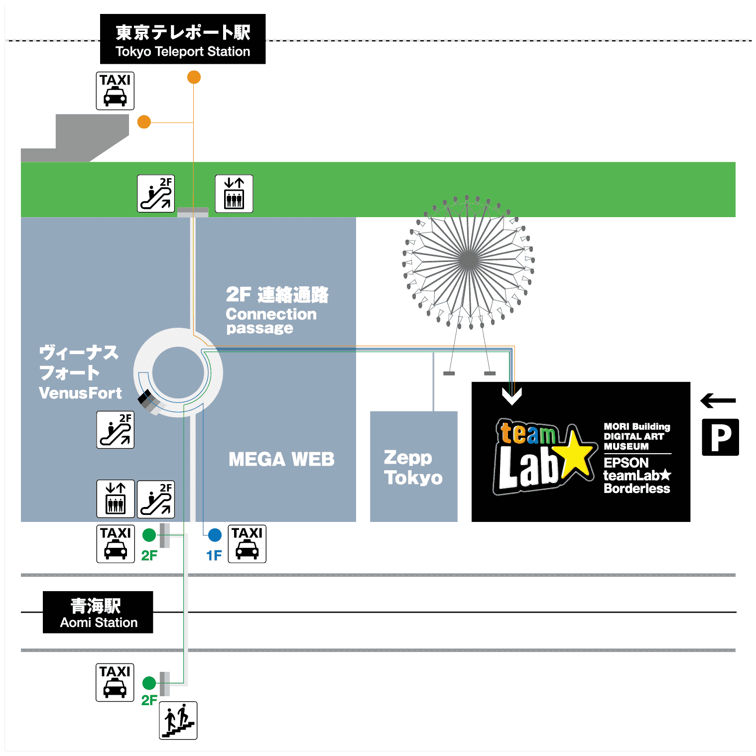 access map