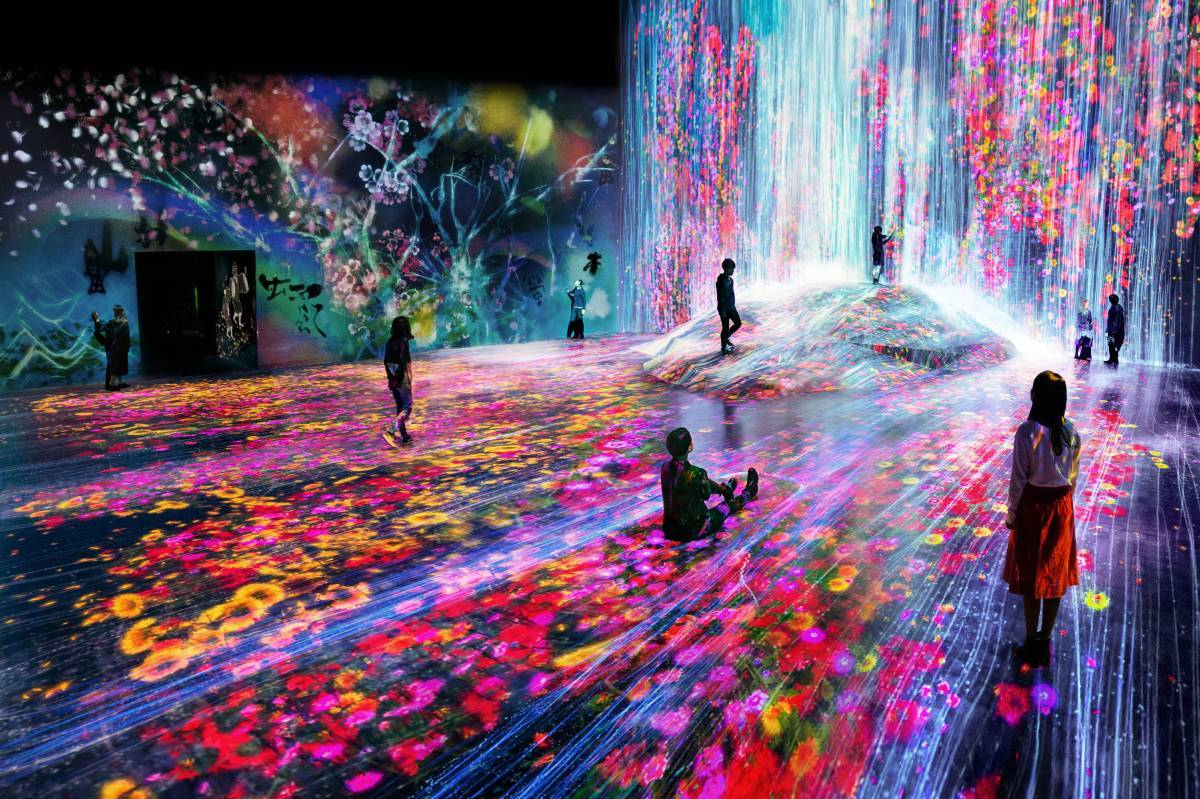 Image result for TeamLab Borderless
